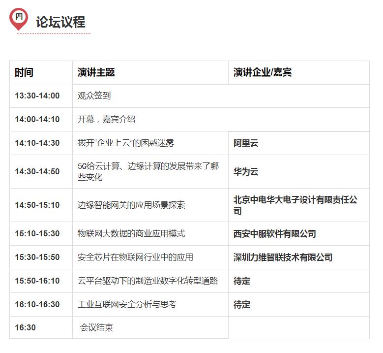 2019深圳国际物联网平台与数据安全高峰论坛